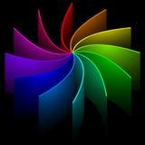 Redemoinho do arco-íris Ilustração do Vetor