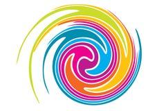 Redemoinho do arco-íris Foto de Stock