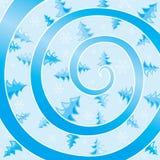 Redemoinho do inverno Imagem de Stock
