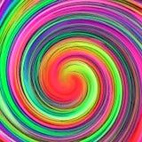 Redemoinho hipnótico abstrato Fotografia de Stock