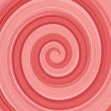 Redemoinho lustroso abstrato do creme do yogurt do vetor vermelho e Fotografia de Stock