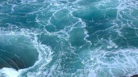 Redemoinho no mar Fotografia de Stock