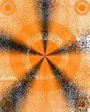 Redemoinho Textured do metal fotos de stock