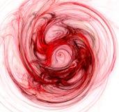 Redemoinho vermelho ilustração royalty free