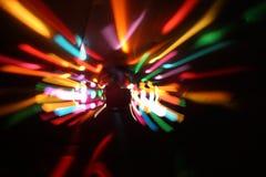 Redemoinhos 2 da luz Fotografia de Stock Royalty Free
