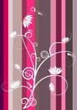 Redemoinhos abstratos dos lótus ilustração stock
