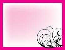 Redemoinhos da cor-de-rosa ilustração do vetor