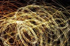 Redemoinhos da luz Imagem de Stock Royalty Free