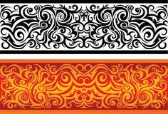Redemoinhos decorativos ilustração do vetor