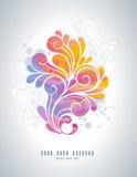 Redemoinhos do arco-íris Fotografia de Stock