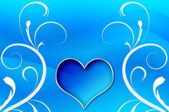 Redemoinhos do coração Fotografia de Stock Royalty Free