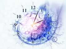Redemoinhos do tempo ilustração do vetor