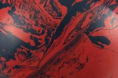 Redemoinhos do vermelho e do preto Fotos de Stock