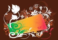 Redemoinhos florais ilustração stock