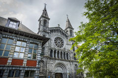 Redemptorists church in Tournai, Belgium Royalty Free Stock Photos