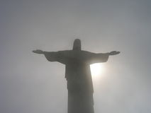 Redentor van Brazilië - van Rio stock afbeeldingen