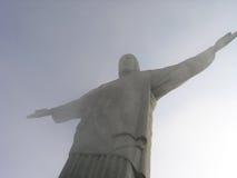 Redentor van Brazilië - van Rio Stock Fotografie