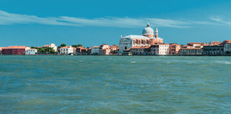 Redentore大教堂在威尼斯 免版税库存照片