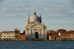 Redentore Basilica Venice. Church of the Most Holy Redeemer by famous architect Palladio Stock Images