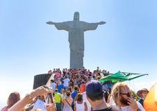 Redentore di Cristo Immagini Stock Libere da Diritti