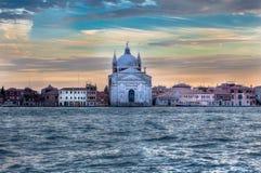 Redentore kyrka, Venedig, Italien Royaltyfria Foton