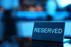 Rederved-Karte lizenzfreies stockbild