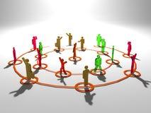 Redes ilustración del vector
