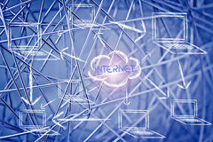 Redes, conexiones a internet y distribución de datos