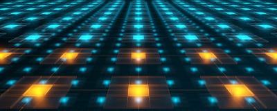 Redes da alta tecnologia Imagens de Stock