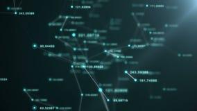 Redes de las conexiones del plexo ilustración del vector