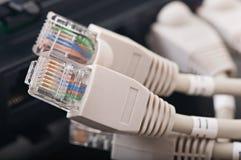 Redes de ordenadores, nuevas tecnologías Foto de archivo