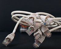 Redes de ordenadores, nuevas tecnologías Imagenes de archivo