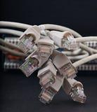 Redes de ordenadores, nuevas tecnologías Fotografía de archivo