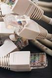 Redes de ordenadores, nuevas tecnologías Fotos de archivo