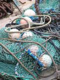 Redes de pesca imagens de stock