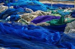 Redes de pesca Fotos de archivo