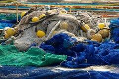 Redes de pesca Foto de archivo libre de regalías