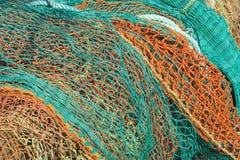 Redes de pesca Fotografia de Stock