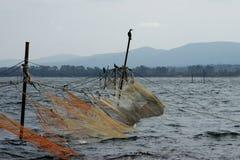 Redes de pesca - 2 Fotos de archivo libres de regalías
