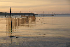 Redes de pesca - 9 Imagen de archivo libre de regalías