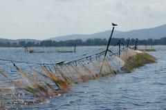 Redes de pesca - 12 Foto de archivo libre de regalías