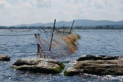 Redes de pesca - 13 Imagen de archivo libre de regalías