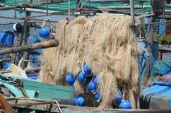 Redes de pesca Fotografia de Stock Royalty Free
