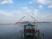 Redes de pesca chinas Kerala Fotos de archivo libres de regalías