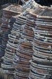 Redes de pesca de la langosta Fotografía de archivo libre de regalías