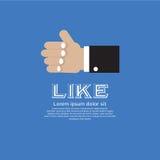 Redes do Social do ícone. ilustração stock