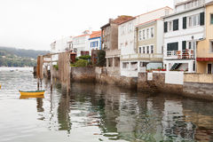 Redes: fishing village of Spain attached to the sea Stock Photo