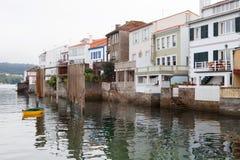 Redes: il paesino di pescatori della Spagna ha attaccato al mare Immagine Stock Libera da Diritti