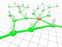 Redes sociais Imagens de Stock