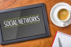 Redes sociales Imágenes de archivo libres de regalías